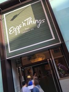 USJにEggs'n Things(エッグスンシングス)がオープン